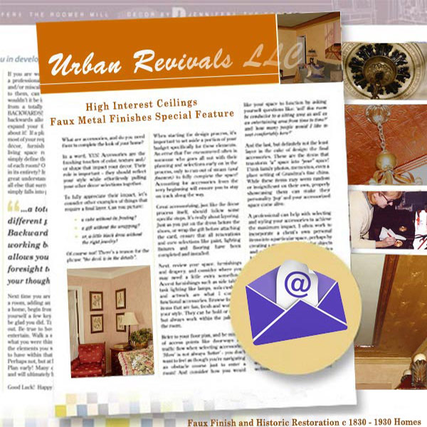 Sign up for the Urban Revivals Newsletter