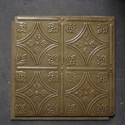 Antique Bronze Armstrong ceiling tile