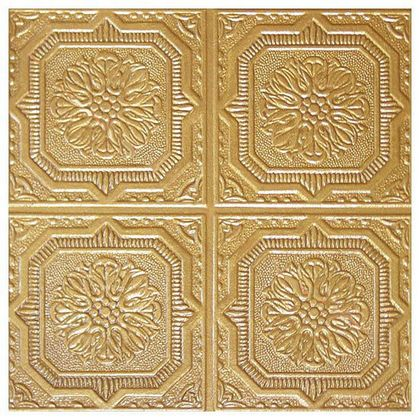 Antique Gold Ceiling Tile