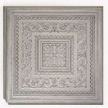 Antique Silver ceiling tile