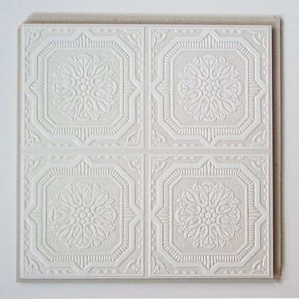 Plain White Wellington Tile