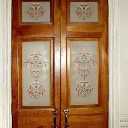 Architectural ornament for doors