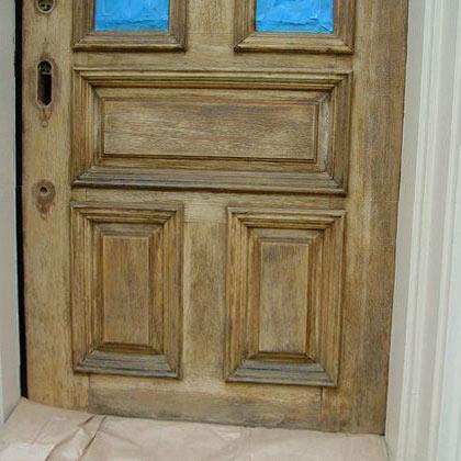 Entrance Door Restoration - Tint Matching, Repair, and Finishing ...