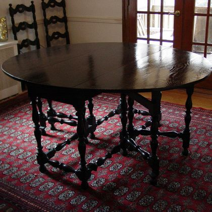 ebonizing a table