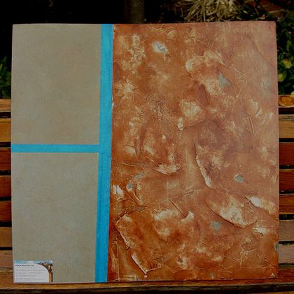Venetian Plaster sample board