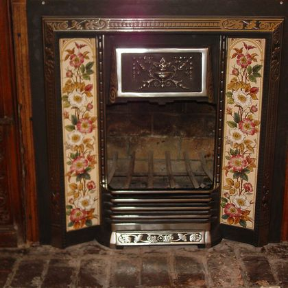Rumford fireplace restoration
