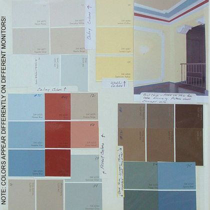 Victorian Historic paint schemes