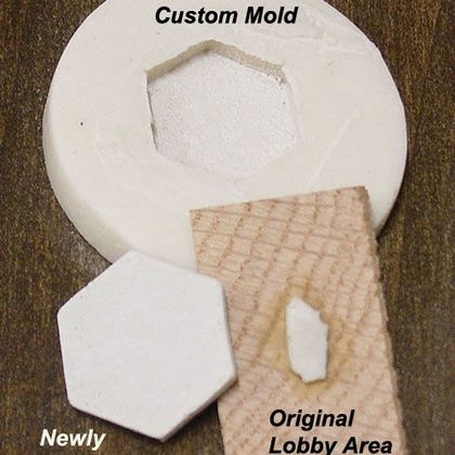 Replacing Tiles by creating molds