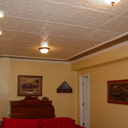 Tin Ceiling Installation