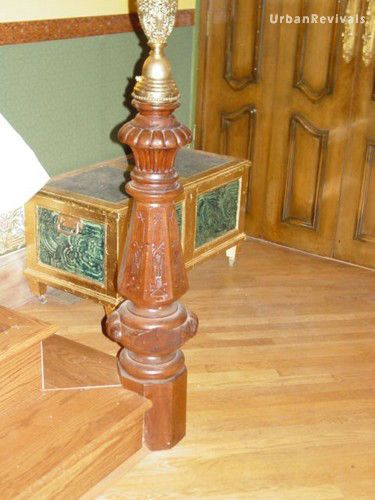 Salvaged Newel Post