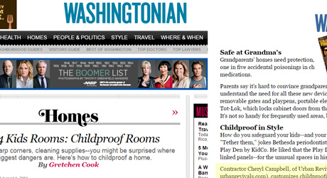 Urban Revivals in Washingtonian Magazine