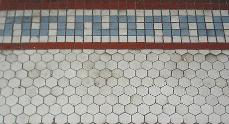 Historic tiles octogonal require cleaning