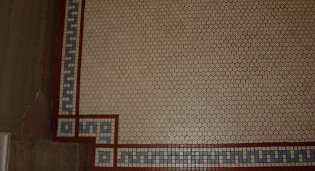 encaustic floor tile repair
