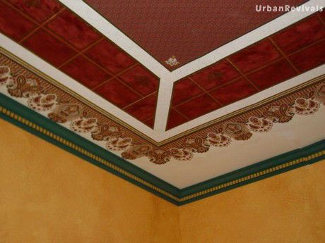 Victorian Ceiling Paper