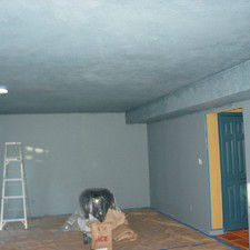 colorwashing ceiling